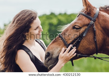 Horse Hug Stock Photos Images Amp Pictures Shutterstock