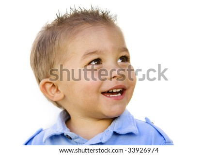 Smiling Little Boy (Hispanic)