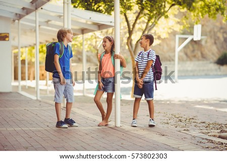 Children Talking Stock Images Royalty Free Images
