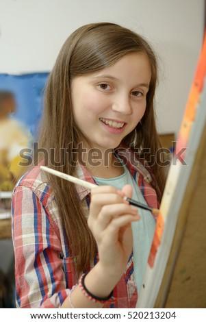 art girls Young teen