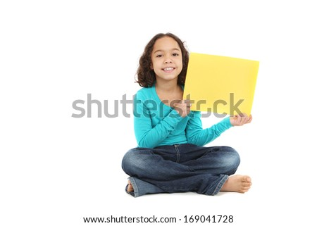 Smiling young girl  - stock photo