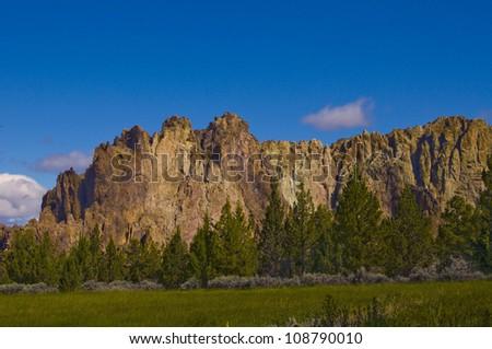 Smith Rock, Oregon - stock photo
