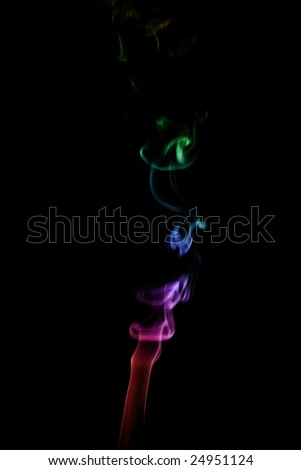 smoke abstract background