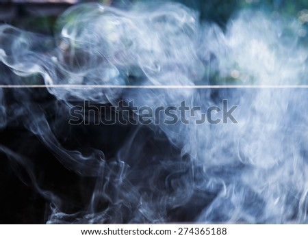 Smoke background. - stock photo