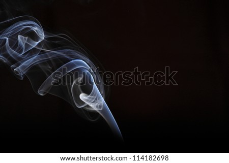 smoke photography - stock photo