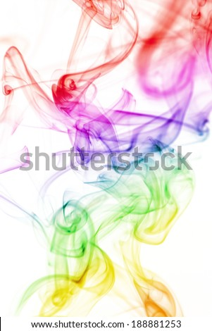 smoke shape Abstract color background