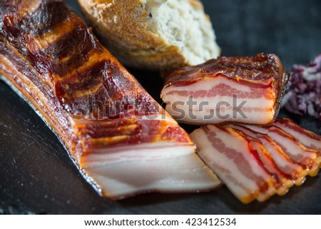 Smoked bacon III.