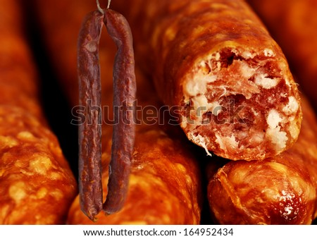 smoked sausage of the Black Forest