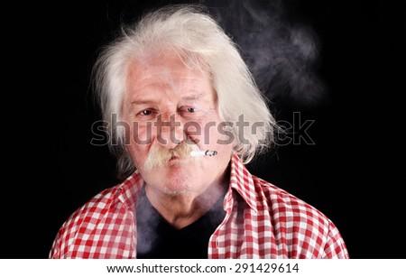 Smoker - stock photo