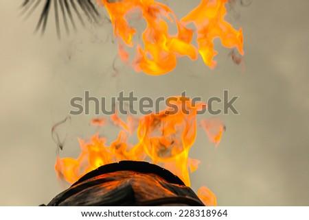 Smokestack Pollution - stock photo