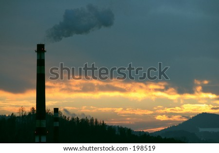smoking flue
