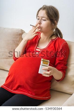 Pregnancy and cigeratte smoke