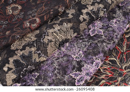 smooth elegant fabric texture as background