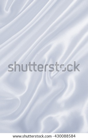 Smooth elegant grey silk or satin texture can use as background - stock photo