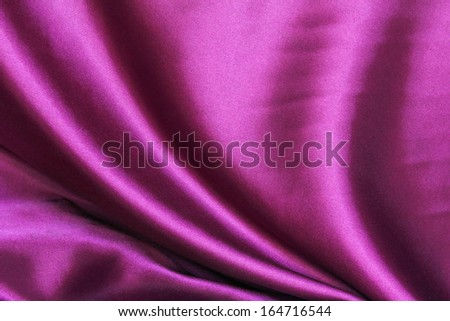 Smooth elegant purple Silk Fabric for Drapery Abstract Background  - stock photo