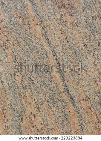 smooth gray striped pink large granite slab  - stock photo