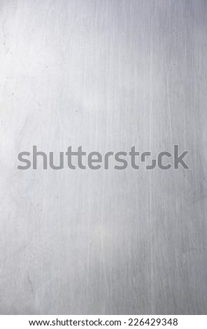 Smooth metal surface in urban structure, building - stock photo