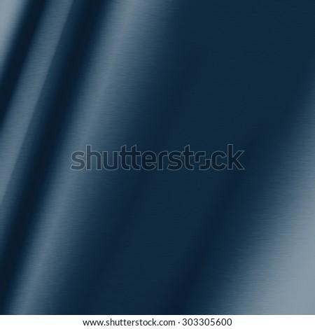 smooth metal texture dark navy blue background - stock photo