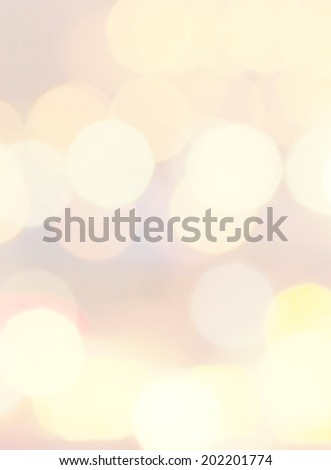 Smooth Pastel Abstract Defocused Bokeh light vintage background. Soft light abstract background with white lights.