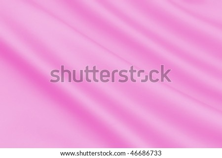 Smooth Pink Satin - stock photo