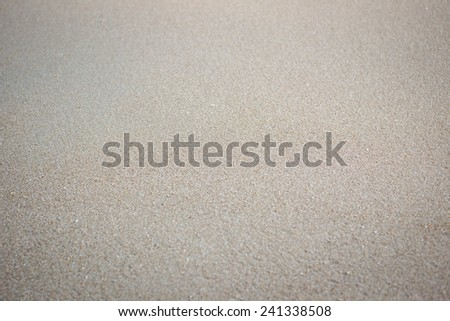 Smooth sand background. - stock photo