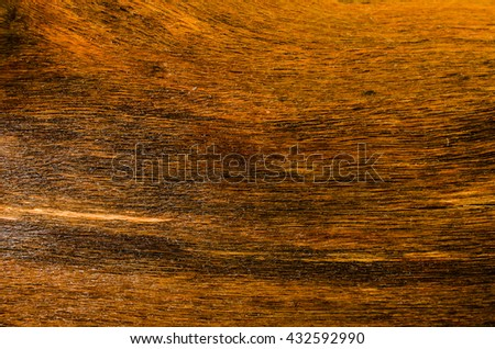 Smooth varnished wooden board. Natural pattern wood   - stock photo