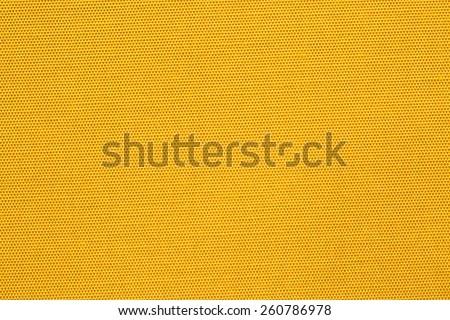 Smooth yellow silk background - stock photo