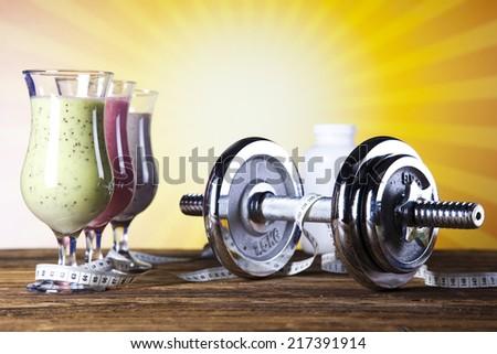 Smoothie diet - stock photo