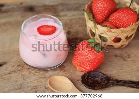 smoothie strawberry