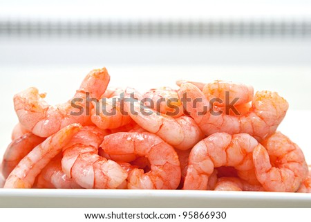 snack is same big red shrimp