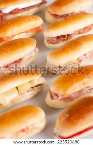 snacks to school - stock photo