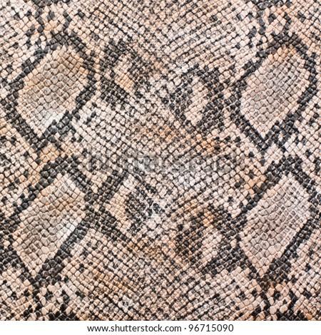 snake skin leather imitation - stock photo