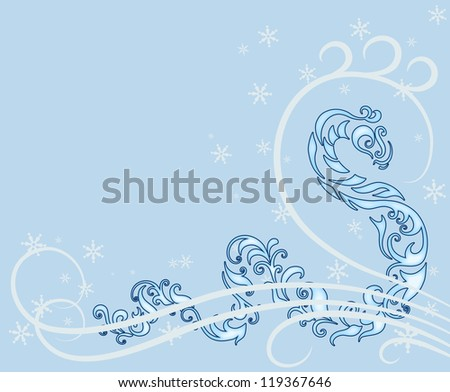 Snake Year New Year Card Chinese Stock Illustration 119367646