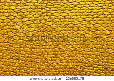Snakeskin texture leather, can be used as background - stock photo