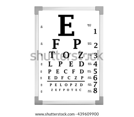 Eye Test Chart Stock Images, Royalty-Free Images & Vectors