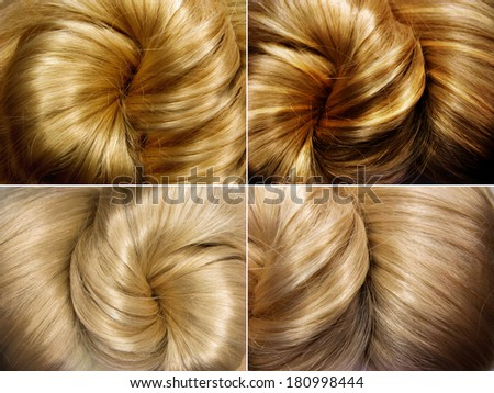 sniny blond hair texture background