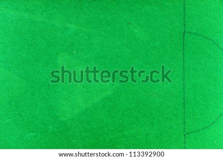 snooker table  background - stock photo