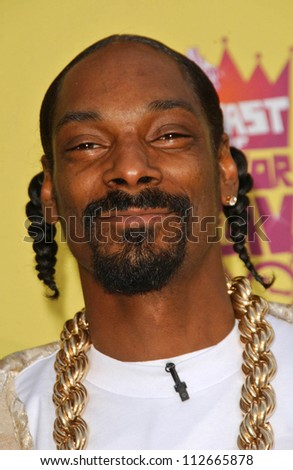 """Snoop Dogg at the """"Comedy Central Roast of Flavor Flav"""". Warner Brothers Studio Lot, Burbank, CA. 07-22-07 - stock photo"""