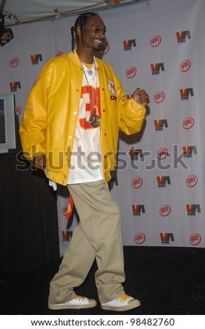 SNOOP DOGG at the 2003 Vibe Awards in Santa Monica, CA. November 20, 2003  Paul Smith / Featureflash - stock photo