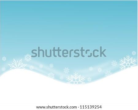 Snow - stock photo