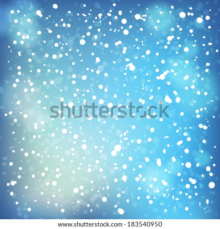 Snow and soft highlights background. Raster version. - stock photo