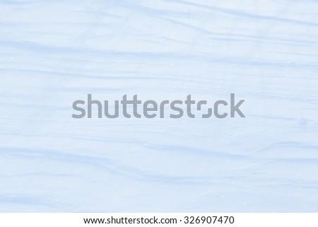 snow background close up - stock photo