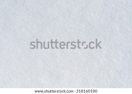 snow background texture - stock photo