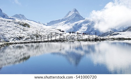 Switzerland Mountains Snow
