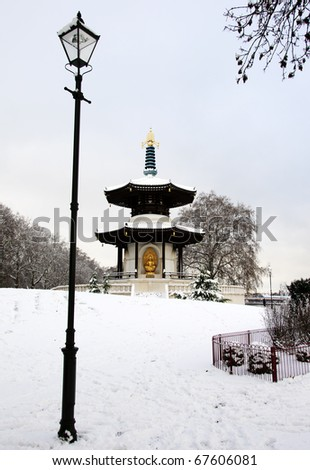 Snow Pagoda London II