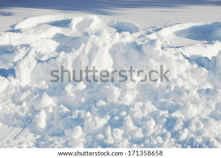 snow texture - stock photo