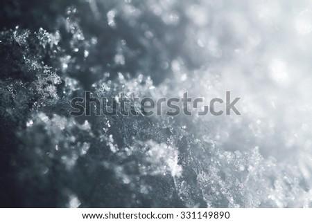 snow texture as very nice christmas backround - stock photo