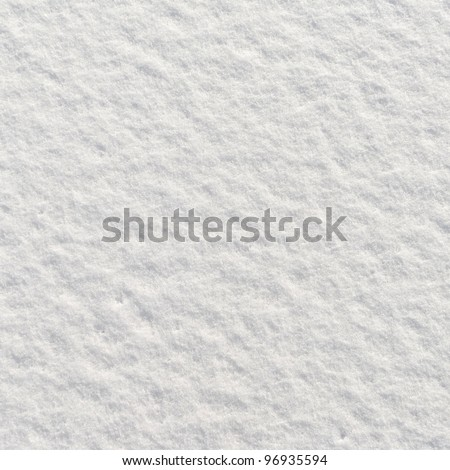 Snow texture for background use - stock photo