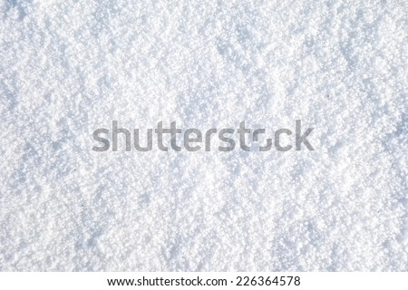 snow texture (series) - stock photo