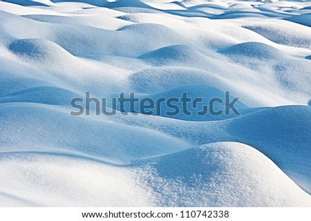 snow - textured background - stock photo
